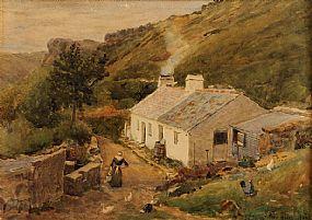 Joseph Poole Addey (1852-1922), Hillside Cottage at Morgan O'Driscoll Art Auctions