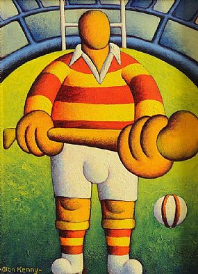 Alan Kenny (20th/21st Century), Make My Day (The Hurler) at Morgan O'Driscoll Art Auctions
