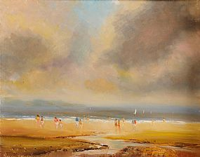 Norman J. McCaig (1929-2001), A Walk on the Beach at Morgan O'Driscoll Art Auctions