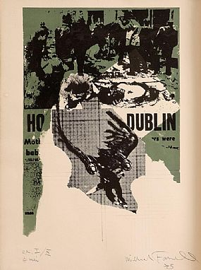 Michael Farrell (1940-2000), Dublin Bombing 17 Mai at Morgan O'Driscoll Art Auctions