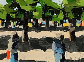 Michael Morris (20th/21st Century), A Walk in the Park at Morgan O'Driscoll Art Auctions