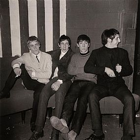 John Minihan (b.1946), The Who pictured at the Marquee Club, Wardour St, Soho, London 1964 at Morgan O'Driscoll Art Auctions