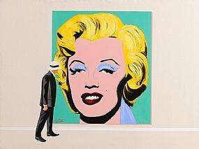 Ken O'Neill (20th/21st Century), Minding Marilyn at Morgan O'Driscoll Art Auctions