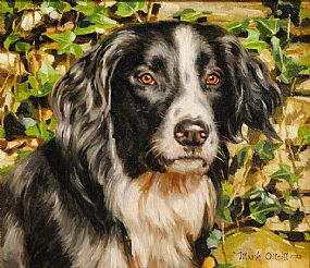 Mark O'Neill (b.1963), Collie at Morgan O'Driscoll Art Auctions
