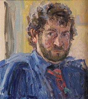 Amy Berenz (20th/21st Century), Portrait of James O'Halloran at Morgan O'Driscoll Art Auctions