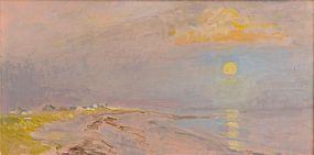 David Goldberg (20th/21st Century), Sun Over Whitestown at Morgan O'Driscoll Art Auctions