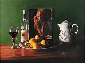 Patrick Marsh (b.1943) English, Still Life With Pin Up at Morgan O'Driscoll Art Auctions