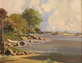 George Gillespie RUA (1924-1996), Strandford Lough at Morgan O'Driscoll Art Auctions