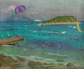 Patrick Leonard HRHA (1918-2005), Lambay Island at Morgan O'Driscoll Art Auctions