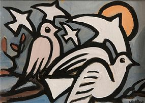 Markey Robinson (1918-1999), Birds at Morgan O'Driscoll Art Auctions
