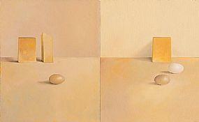 Liam Belton RHA (b.1947), Bohemian Lemon Soup and Three Eggs at Morgan O'Driscoll Art Auctions