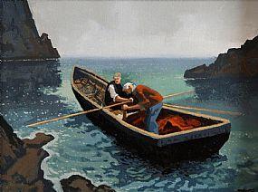 John Francis Skelton (b.1954), Short Cuts, Dunquin, Co. Kerry at Morgan O'Driscoll Art Auctions