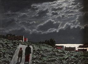 Ciaran Clear (1920-2000), Home by Moonlight at Morgan O'Driscoll Art Auctions