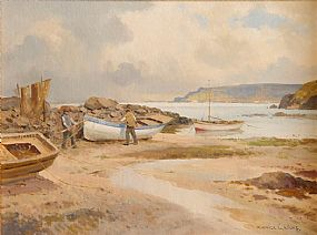 Maurice Canning Wilks ARHA RUA (1911-1984), Low Tide at Morgan O'Driscoll Art Auctions