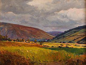 Hans Iten RUA (1874-1930), Landscape at Morgan O'Driscoll Art Auctions