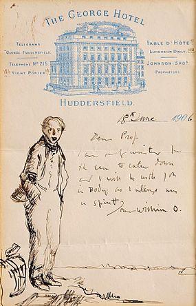 Sir William Orpen RHA (1878-1931), At The George Hotel 1906 at Morgan O'Driscoll Art Auctions
