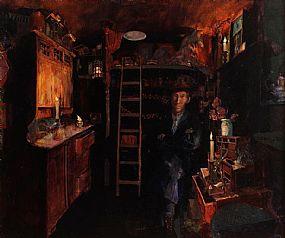 Hector McDonnell RUA (b.1947), Warner Dailey's Kitchen at Morgan O'Driscoll Art Auctions