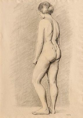 Renee Honta (1894-1955), Female Nude Study at Morgan O'Driscoll Art Auctions