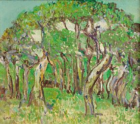 Letitia Marion Hamilton RHA (1875-1964), Wooded Grove at Morgan O'Driscoll Art Auctions