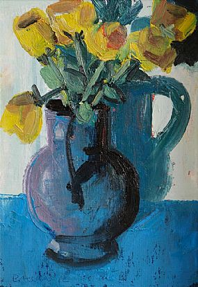 Brian Ballard RUA (b.1943), Vase of Tulips at Morgan O'Driscoll Art Auctions