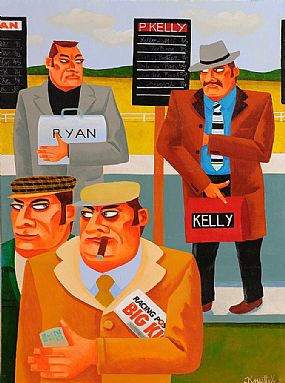 Graham Knuttel (b.1954), At The Races at Morgan O'Driscoll Art Auctions