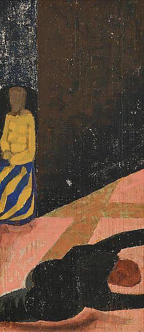 Patrick Pye, Fall and Bystander at Morgan O'Driscoll Art Auctions