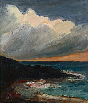 Peter Collis RHA (1929-2012), Sea, Dublin Bay at Morgan O'Driscoll Art Auctions