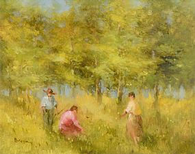 Elizabeth Brophy (20th/21st Century), The Green of Spring at Morgan O'Driscoll Art Auctions