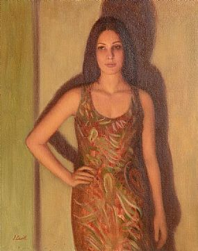 James Cahill (20th/21st Century), Portrait of a Young Lady at Morgan O'Driscoll Art Auctions
