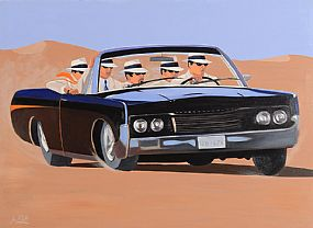 Ken O'Neill (20th/21st Century), Just Driving at Morgan O'Driscoll Art Auctions