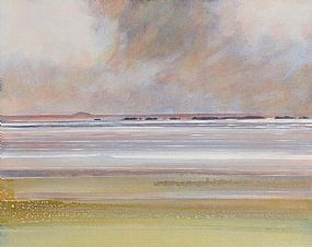 Denise Ferran (20th/21st Century), Storm Over Glasheey Island, Donegal at Morgan O'Driscoll Art Auctions