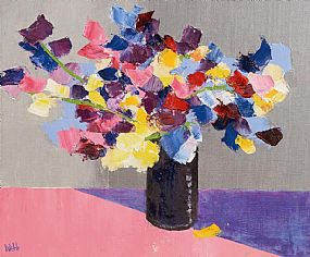 Kenneth Webb RWA FRSA RUA (b.1927), Sweet Pea at Morgan O'Driscoll Art Auctions