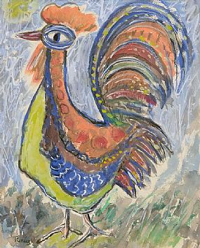 Basil Ivan Rakoczi (1908-1979), The Cockeral at Morgan O'Driscoll Art Auctions