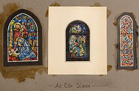 Wilhelmina Geddes (19th/20th Century), Three Stain Glass Studies at Morgan O'Driscoll Art Auctions