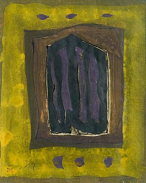 Tony O'Malley HRHA (1913-2003), Yellow and Purple Autumn, 1974 St. Ives at Morgan O'Driscoll Art Auctions