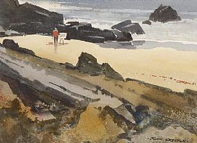 John Skelton Snr (1923-2009), The Sea Painter, Achill Island at Morgan O'Driscoll Art Auctions