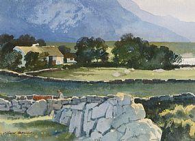 John Skelton Snr (1923-2009), Connemara Farmstead at Morgan O'Driscoll Art Auctions