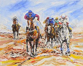 James Moran (20th/21st Century), Final Push at Morgan O'Driscoll Art Auctions