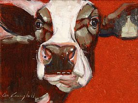 Cornelius Campbell (20th/21st Century), Red Cow at Morgan O'Driscoll Art Auctions