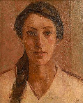 Colin Watson (b.1966), Head of a Woman at Morgan O'Driscoll Art Auctions