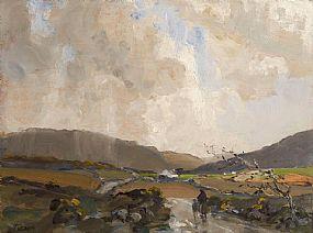 James Humbert Craig RHA RUA (1878-1944), Returning Home to Maam Cross at Morgan O'Driscoll Art Auctions