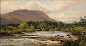 Alexander Williams RHA (1846-1930), West of Ireland Landscape at Morgan O'Driscoll Art Auctions