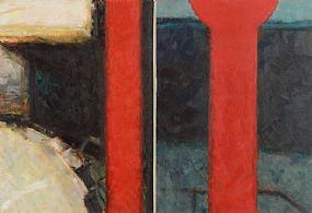 John Shinnors (b.1950), Roxboro Road, Bus Stop V at Morgan O'Driscoll Art Auctions