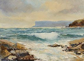 Norman J. McCaig (1929-2001), Fair Head Co. Antrim at Morgan O'Driscoll Art Auctions