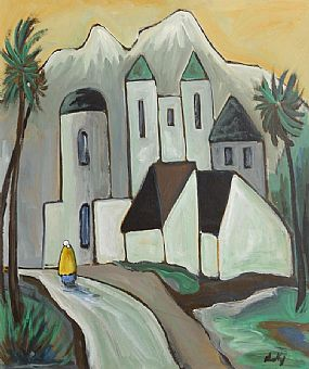 Markey Robinson (1918-1999), Returning to the Village at Morgan O'Driscoll Art Auctions