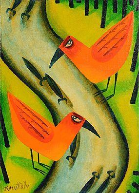 Graham Knuttel (b.1954), Birds of Prey at Morgan O'Driscoll Art Auctions