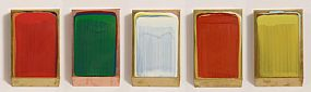 Ciaran Lennon (b.1947), 5 Part Colour Collection 2006 at Morgan O'Driscoll Art Auctions