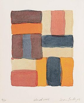 Sean Scully (b.1945), Coloured Wall at Morgan O'Driscoll Art Auctions