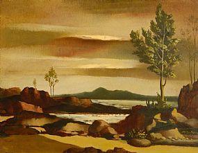 Daniel O'Neill (1920-1974), Connemara Coastal Scene at Morgan O'Driscoll Art Auctions