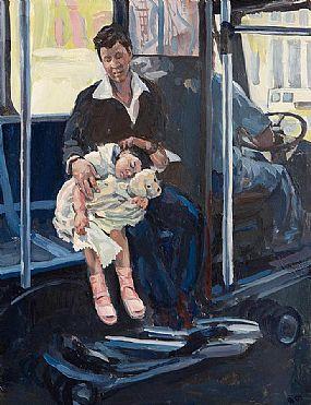 Hector McDonnell RUA (b.1947), Taking a Rest at Morgan O'Driscoll Art Auctions